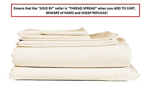 thread spread hotel collection 600 thread count egyptian cotton sateen 4 piece sheet set
