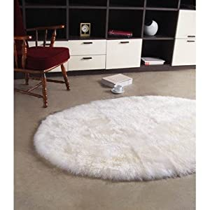 cleaning white sheepskin rugs