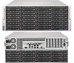 Supermicro SuperStorage 6048R-E1CR36N Barebone System - 4U Rack-mountable