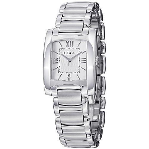 Ebel Brasilia Women's Silver Steel Bracelet & Case Quartz Watch 9257M32-64500