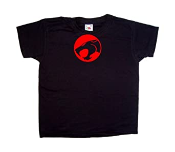 Thundercats Clothes on Thundercats Retro Black Kids T Shirt  Amazon Co Uk  Clothing
