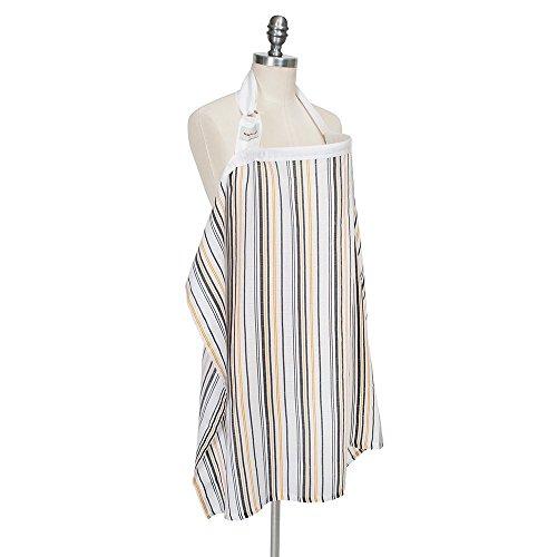 Bebe Au Lait Nursing Cover - Muslin - Vintage Stripe