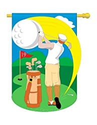"Golf Flag Indoor/Outdoor 28"" x 44"""