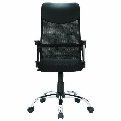 LexMod Sights High Back Ergonomic Office Task Chair in Black