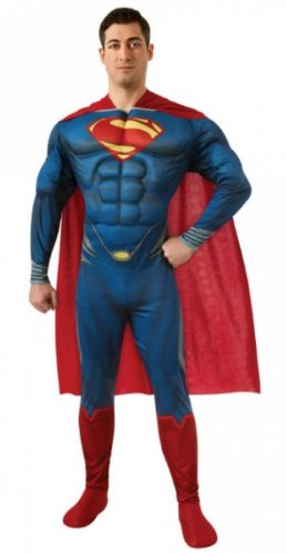 Costumes for all Occasions RU887157LG Superman Adult Large (Superman Costume For Sale)