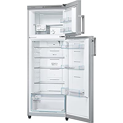 Bosch KDN43VS30I Frost-free Double-door Refrigerator (347 Ltrs, 3 Star Rating, Silver)