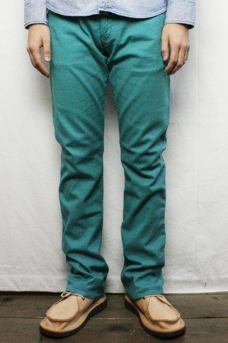 DOPE&DRAKKAR (ドープアンドドラッカー) COTTON STRETCH PANTS (E/GREEN) 30 inch