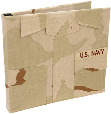Uniformed U.S. Navy Desert Combat Uniform Keepsake Album