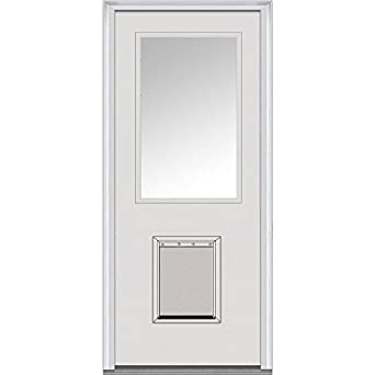 National Door Company Z000746L Steel Prehung Left Hand Inswing Entry Door 1