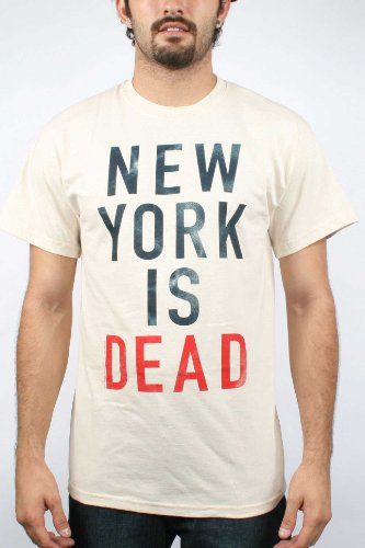 10 Deep- Muerte Mens T-shirt in Natural , Size: XX-Large, Color: Natural