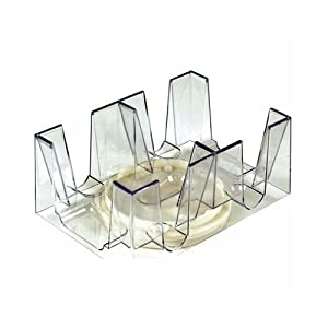 Revolving Playing Card Tray/Holder For 6 Decks