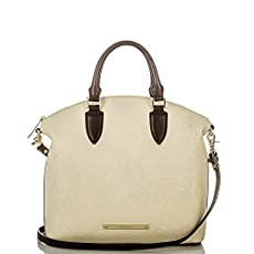 Large Duxbury Satchel<br>Creme Saint Germaine