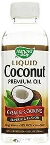Nature's Way Coconut Oil Liquid 10 oz