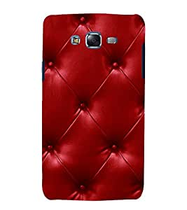 printtech Leather Pattern Back Case Cover for Samsung Galaxy Core Prime G360