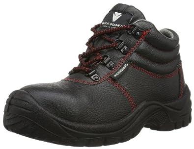 Maxguard ADAM 900116 Unisex-Erwachsene Sicherheitsschuhe, 900116, Schwarz (schwarz), Gr. 36