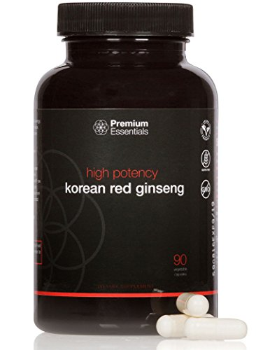 Korean Red Ginseng - Panax Ginseng - High Potency - Premium Essentials