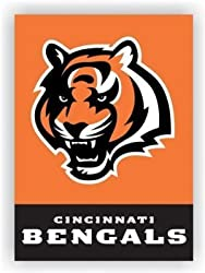 Cincinnati Bengals 2-Sided 28 X 40 House Banner - NFL