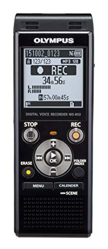 Olympus-Digital-Voice-Recorder-WS-853-Black