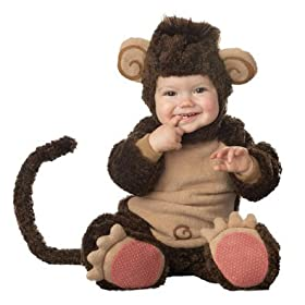 Lil' Monkey Elite Collection Infant/Toddler Infant Halloween Costume