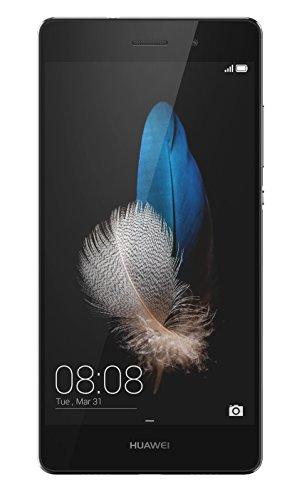 Huawei P8 Lite Smartphone, Android 5.0, Processore Octacore 64bit, 16 GB Memoria Interna, Fotocamera 13MP, Mono SIM, Nero [Italia]