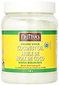 Nutiva Organic Virgin Coconut Oil, 54oz, (Pack of 2)