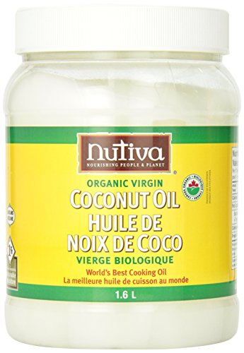 Nutiva Organic Virgin Coconut Oil, 54Oz, (Pack Of 2)