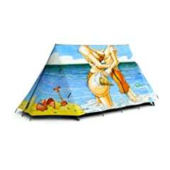 Wish You Were Here 2-Person Tent by FieldCandy