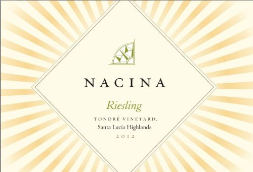 2012 Nacina Santa Lucia Highlands Tondre Vineyard Riesling 750Ml