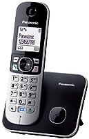 Panasonic KX-TG6811JTB Telefono Cordless DECT, Nero