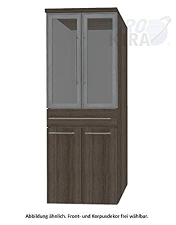 Crescendo Puris (HNA056B7W Bathroom High Cabinet 60 CM