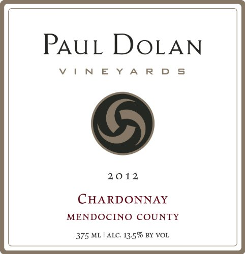 2012 Paul Dolan Vineyards Chardonnay Mendocino County 750 Ml