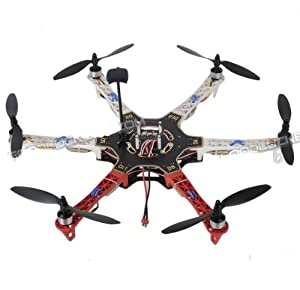 JMT Hj F550 Hex-rotor 550mm MWC 2.1 Hexacopter UFO w/ ESC Motor Propeller ARF Set + GPS Module (No Battery&transmitter) by JMT