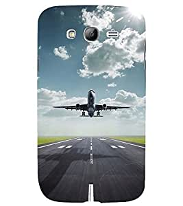 TAKE OFF VIEW OF AN AIRCRAFT 3D Hard Polycarbonate Designer Back Case Cover for Samsung Galaxy Grand Neo :: Samsung Galaxy Grand Neo i9060