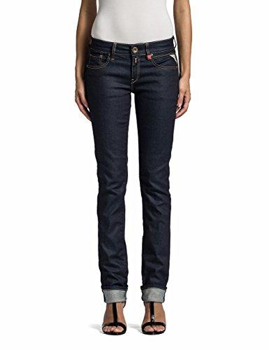 Replay Damen Straight Leg Jeanshose Vicki, Gr. W25/L32 (Herstellergröße: 25), Blau (Denim Blue 7) thumbnail