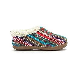 Tom\'s Tiny Slipper Stripe Knit Size 8
