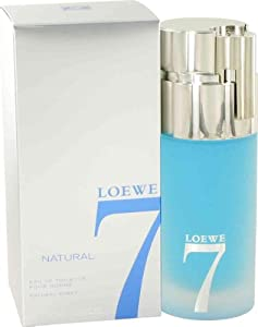 LOEWE 7 NATURAL by Loewe for MEN: EDT SPRAY 3.4 OZ