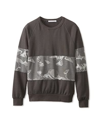 Alternative Men's Textured Colorblock Pullover