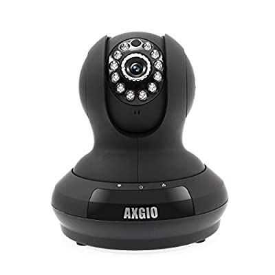 Wireless IP Camera, Axgio Shiel 720P HD Security Camera Remote Live View, Pan-Tilt-Zoom, with Motion Detection, Two-Way Audio and Night Vision for Home Surveillance Baby Monitoring