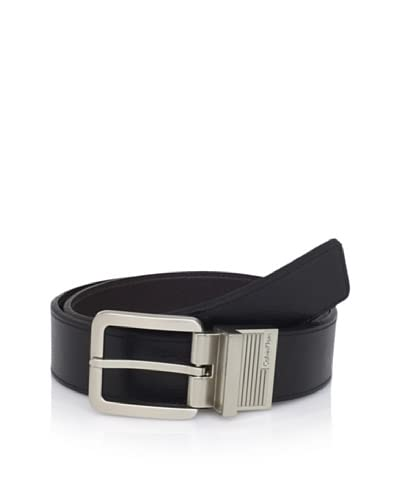 Calvin Klein Men's Reversible Flat Strap Belt