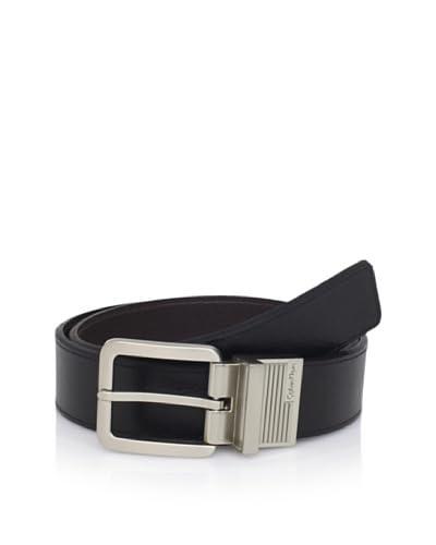 Calvin Klein Men's Reversible Flat Strap Belt