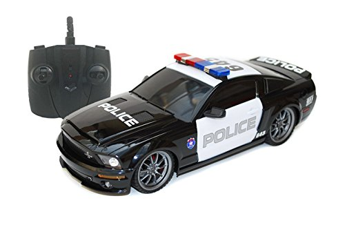 Ford Shelby GT500 Super Snake 1/18 Radio Control Police Car w/ Light (Super Snake compare prices)