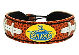Buy NCAA San Jose State Spartans Classic Football Bracelet by GameWear