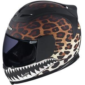 Icon Women's Airframe Sauvetage Helmet - Small/Leopard