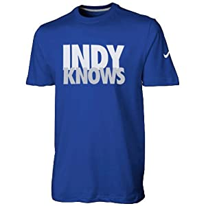 Nike Indianapolis Colts Indy Knows Draft T-Shirt - Royal Blue by Nike