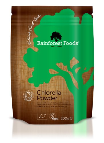 Rainforest Foods Organic Chlorella Powder 200G