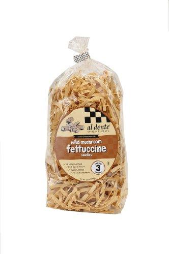 Al Dente Wild Mushroom Fettuccine, 12-Ounce Bag (Pack Of 6)