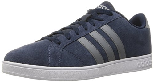 adidas NEO Men's Baseline Fashion Sneaker, Collegiate Navy/Tech Grey/White, 10.5 M US (Adidas Shoes Men Blue compare prices)