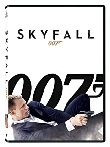 """Skyfall"" is the most recent James Bond film and once again has Daniel Craig in the lead role."