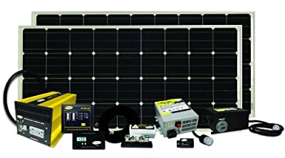 Go Power! Solar Elite Complete Solar and Inverter System with 310 Watts of Solar by Go Power!