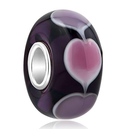 lovelyjewellery-sterling-silver-core-heart-lampwork-murano-glass-beads-fit-pandora-bracelet-purple